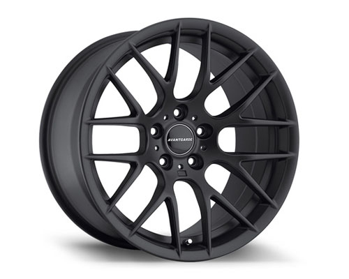 Avant Garde M359 Matte Black Wheel 19x10 5x120 25mm - M359-FB520191025