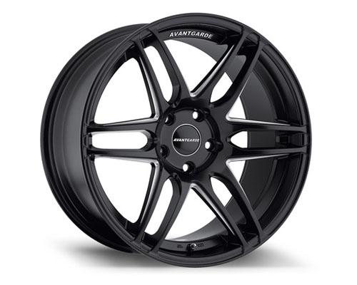 Avant Garde M368 Wheel 19x8.5 5x112 35mm Matte Black - M368-FBMM512198535