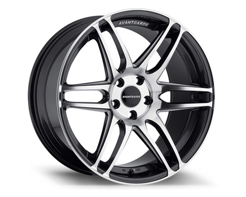 Avant Garde M368 Wheel 19x9.5 5x112 35mm Machine Gunmetal - M368-GMMM512199535