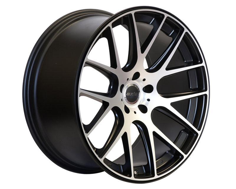 Image of Axis Allies Wheel 20x10.0 5x114.3 20mm Matte Graphite wMachine