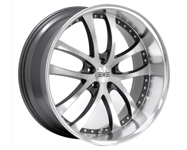 Image of Axis Konvex Wheel 19x8.5 5x112 33mm Machined wAnthracite