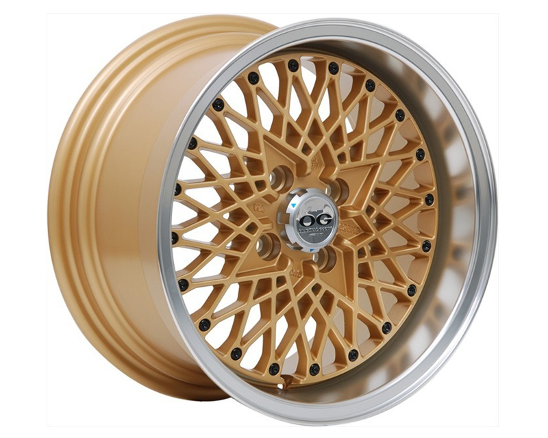 Image of Axis OG San Wheel 15x8.0 4x100 25mm Matte Gold wMachine