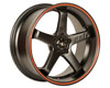 Image of Axis Super Hiro Wheel 18x8.5 5x100 35mm Matte Black