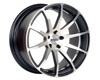 Image of Axis Zero Wheel 20x10.0 5x114.3 25mm Matte Black wMachine