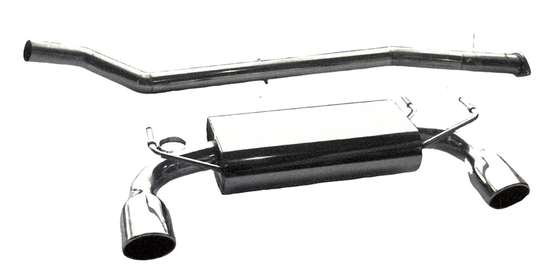 B&B Catback Exhaust System Infiniti G35 Coupe 03-06