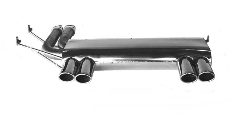 B&B Catback Exhaust System BMW E46 M3 01-05