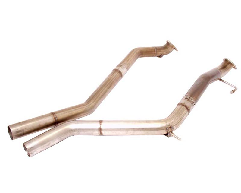 B&B Test Pipes And Mid Pipes Porsche Cayenne TT 04-07 - FPOR-0930