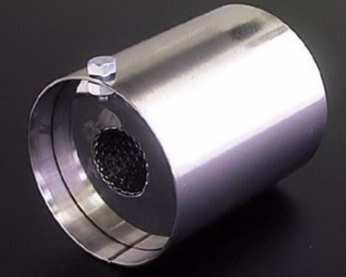 Buddy Club Small Spec II Exhaust Silencer - BC03-SP2UMS