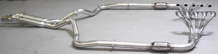 Belanger Complete Catback Exhaust and Header System Dodge Viper 92-02 - BEL-VPR-9202-CES