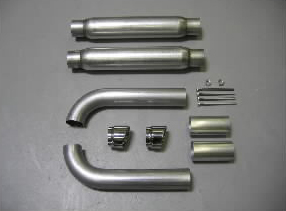 Belanger Side Pipe Kit and GTS Conversion Dodge Viper RT-10 92-95 - BEL-VPR-9202-SDP