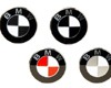 Image of BMW E36 Emblems Colored BMW Roundel Overlays