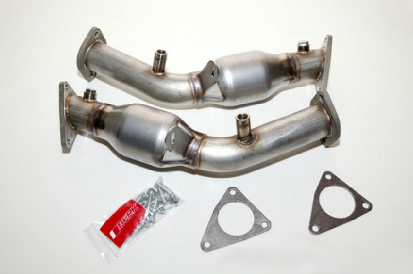 Berk Technologies High Flow Cat Pipes Nissan 370Z 09-14