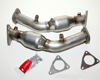 Image of Berk Technologies High Flow Cat Pipes Nissan 350Z 07-08