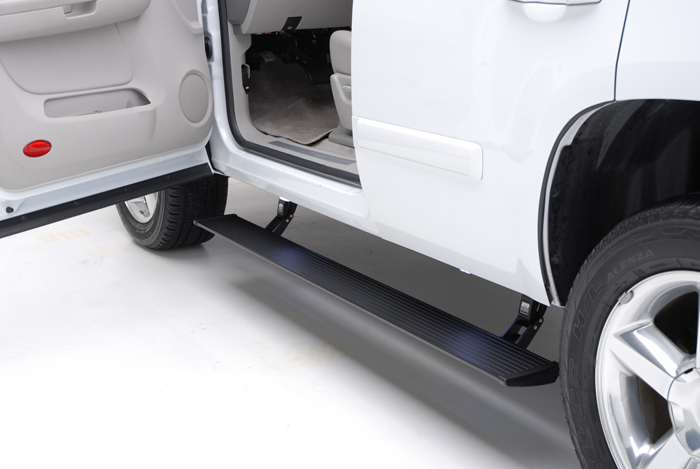 AMP Research Running Boards Cadillac Escalade EXT/ESV 02-06