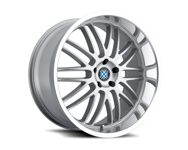 Beyern Mesh 19X8.5 5x120 15mm Silver Machined 72 Bore