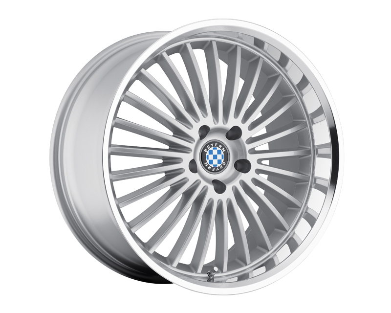 Beyern Multi 17X8 5x120 15mm Silver Machined 74 Bore - BE-1780BYT155120S74