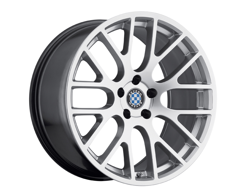 Beyern Spartan Hyper Silver Wheel 18x9.5 5x120 +15mm - BE-1895BYS155120S72