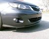 Image of BlackTop Aero Type V Carbon Front Lip for Non-Premium Bumper Subaru WRX 08-12