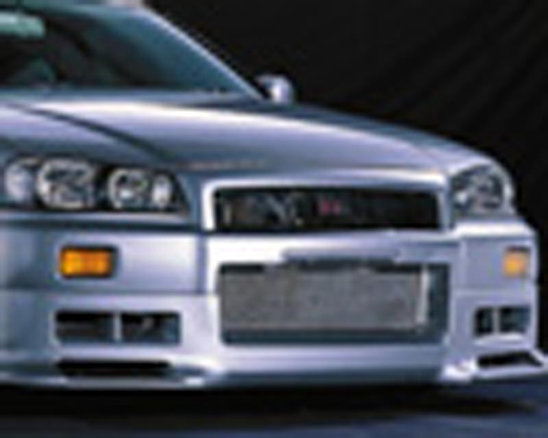 Image of Blitz Aerospeed Side Skirt Set Tupe-2 Nissan Skyline R34 99-02