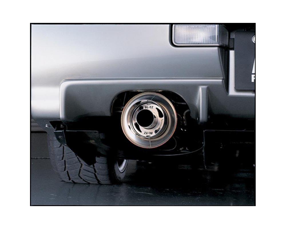 Blitz NUR-V Catback Exhaust Subaru WRX STI 04-07 - 66639