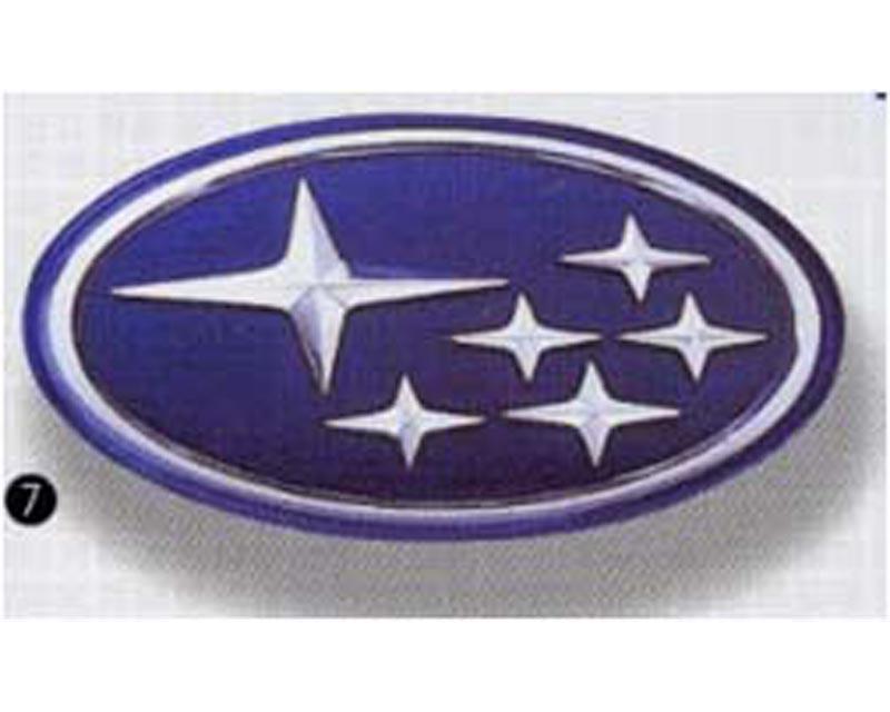 STI Blue Star Emblem Subaru WRX STI 02-07