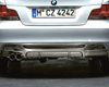 Image of BMW Performance Carbon Fiber Rear Diffuser BMW 1 Series 08-11