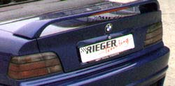 Rieger Infinity II Rear Wing w/ Brake Light BMW E36 Coupe 92-98 - R 49044