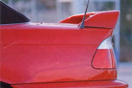Rieger Rear Wing w/ Brake Light BMW E46 Cabrio 00-03 - R 50231