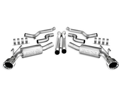 Borla ATAK Stainless Steel Catback Exhaust Chevrolet Camaro 6.2L 10-13