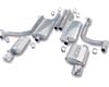 Image of Borla 2.25 Stainless Steel Catback Dodge Charger 05-08