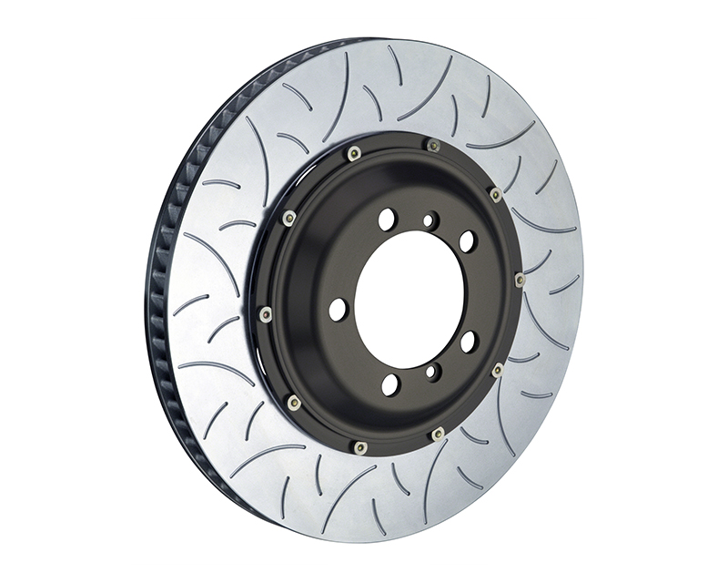 Brembo Slotted Type-3 Front 380x34 2-Piece Rotors Lamborghini Gallardo Excluding Ceramic Brake 03-13 - 103.9003A