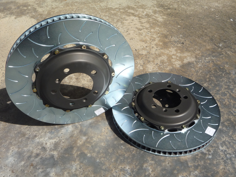 Brembo GT 380 mm 2pc Front Slotted Rotors w/Pads Porsche 997 GT3 / GT3RS w/PCCB 07-09