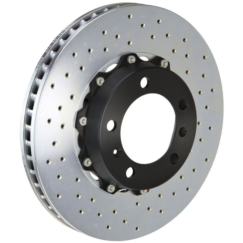 Brembo 330x34 2-Piece Drilled Front Rotors - 101.6003A