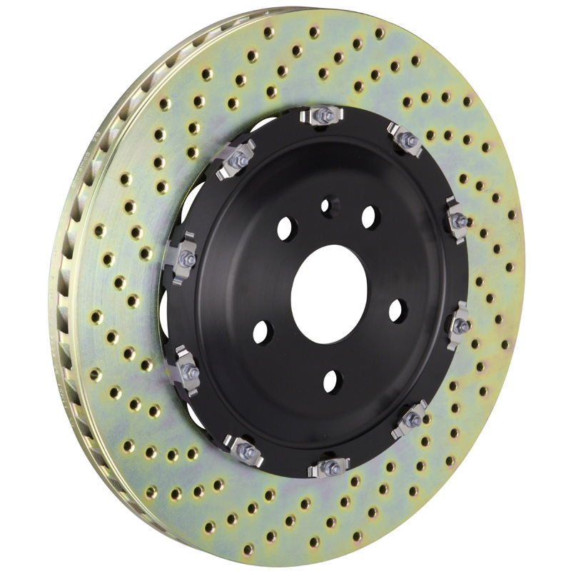 Brembo 380x34 2-Piece Drilled Front Rotors - 101.9003A