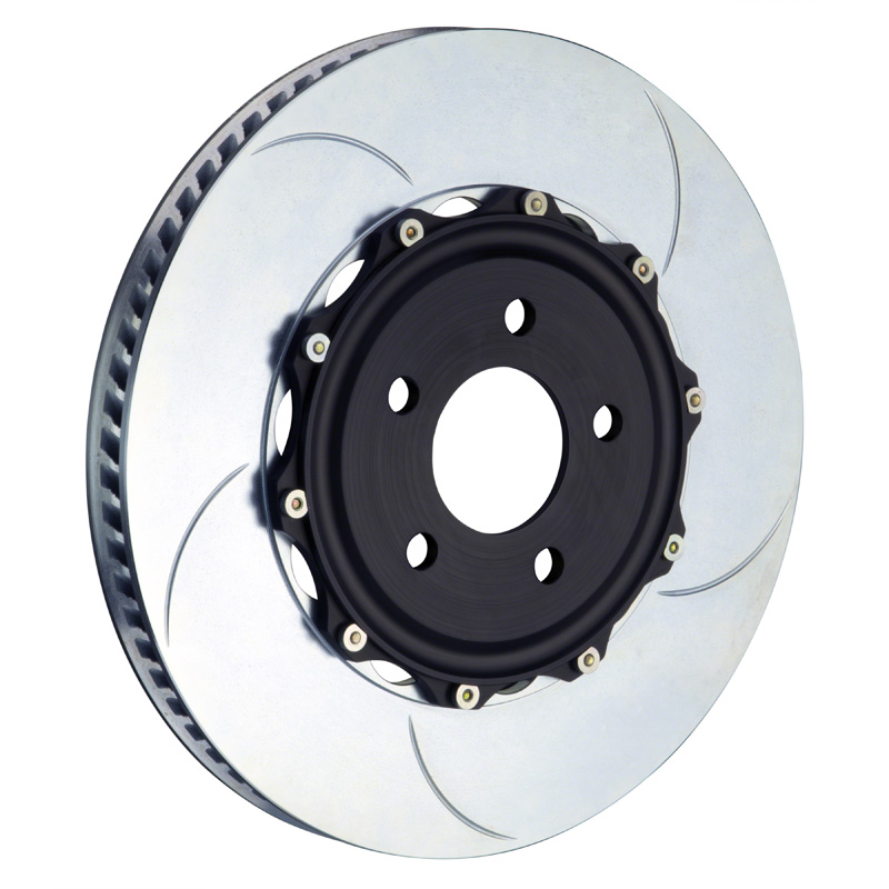 Brembo 355x32 2-Piece Slotted Rotors Type-5 Front Rotors - 102.8005A