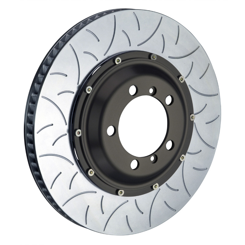 Brembo 380x34 2-Piece Slotted Rotors Type-3 Front Rotors - 103.9006A