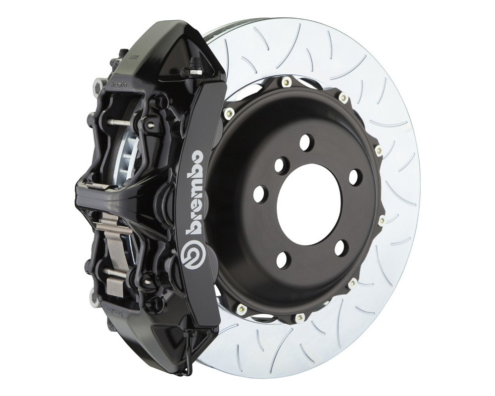 Brembo GT 355x32 2-Piece 6 Piston Black Slotted Type-3 Front Big Brake Kit - 1M3.8043A1