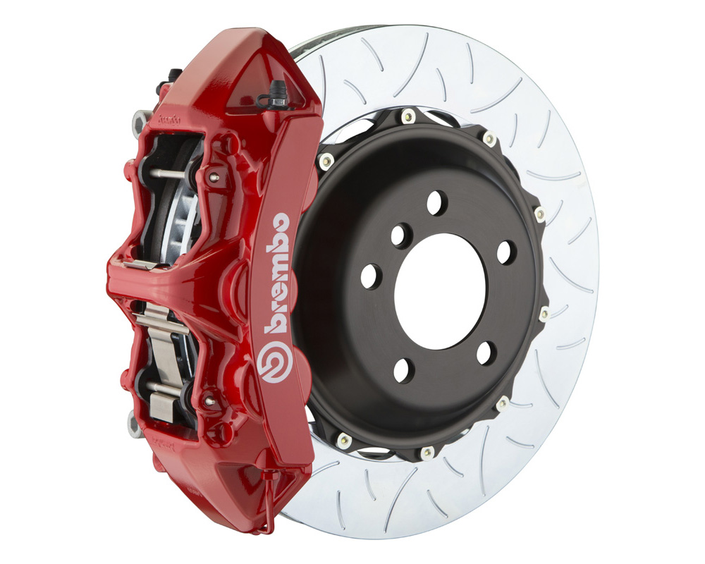 Brembo GT 355x32 2-Piece 6 Piston Red Slotted Type-3 Front Big Brake Kit - 1M3.8063A2