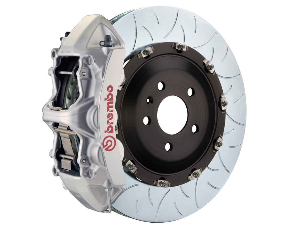 Brembo Brake Kit >> Brembo Gt 380x34 2 Piece 6 Piston Silver Slotted Type 3 Front Big Brake Kit
