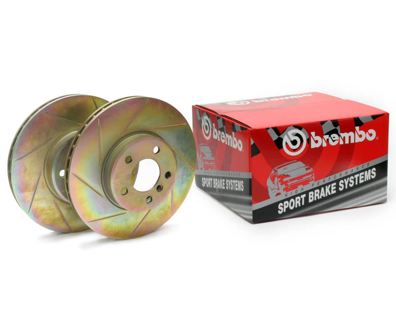 Brembo Sport Slotted Rear Rotors Mercedes-Benz C230 C240 03-05 / C280 C350 06-07 - 33S60023