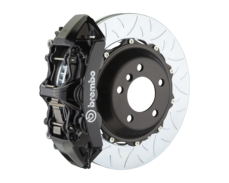 Brembo GT 355x32 2-Piece 6 Piston Black Slotted Type-3 Front Big Brake Kit Volkswagen GTI MK7 14-15 - 1M3.8061A1