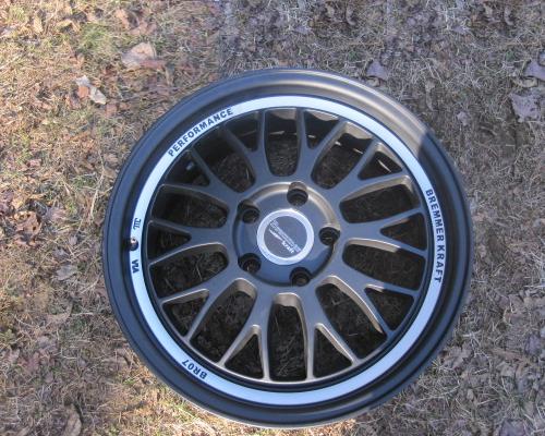 Image of Bremmer Kraft BR07 Wheels 17x8 5x100 48