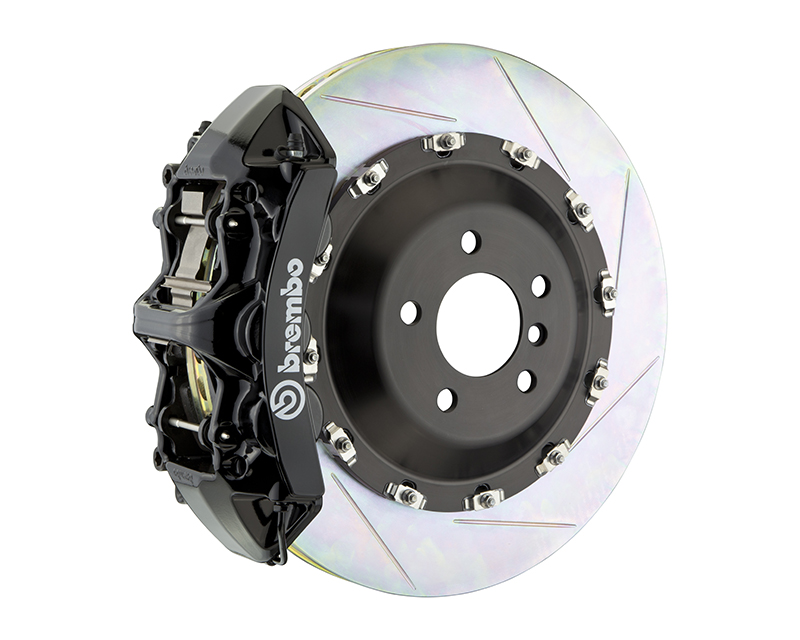 Brembo GT 405x34 2-Piece 6 Piston Black Slotted Front Big Brake Kit BMW X5-M E70 09-13 - 1N2.9517A1