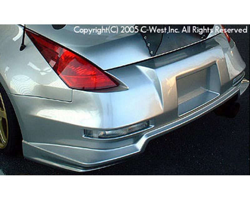 C-West Long Tail Rear Bumper E Type Nissan 350Z Z33 03-08