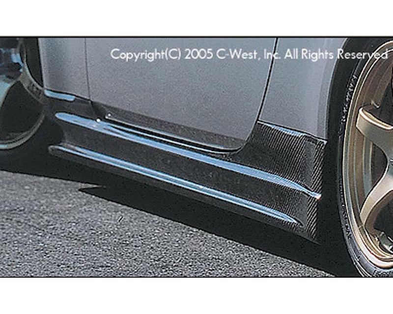C-West Carbon Side Skirts Nissan 350Z Z33 03-08