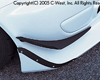 Image of C-West Carbon Front Canard Honda S2000 00-09
