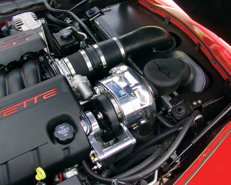 Image of ProCharger H.O. Intercooled Supercharger System Chevrolet Corvette C6 LS2 Automatic Transmission 05-07