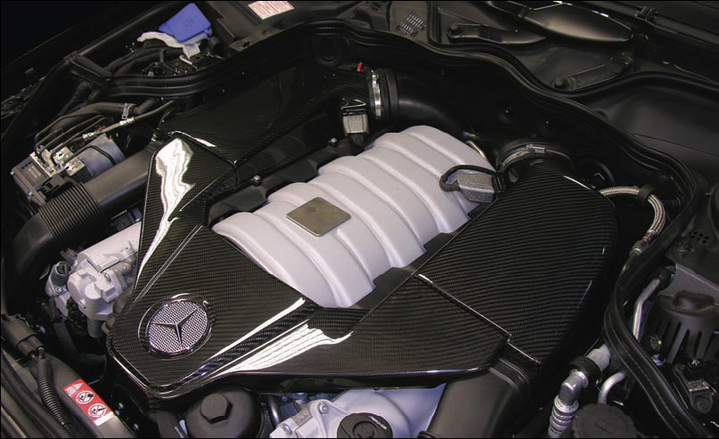 Carbonio Carbon Fiber Air Box Package Mercedes-Benz SL63 AMG R230 M156 08-11 - MBZ-AMG63-ABC