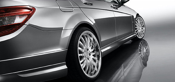 Carlsson Side Skirts Mercedes-Benz C300 W204 08-11