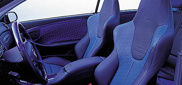 Carlsson Leather/Quilted Alcantar Upholstery Mercedes-Benz CLK-Class C209 03-09